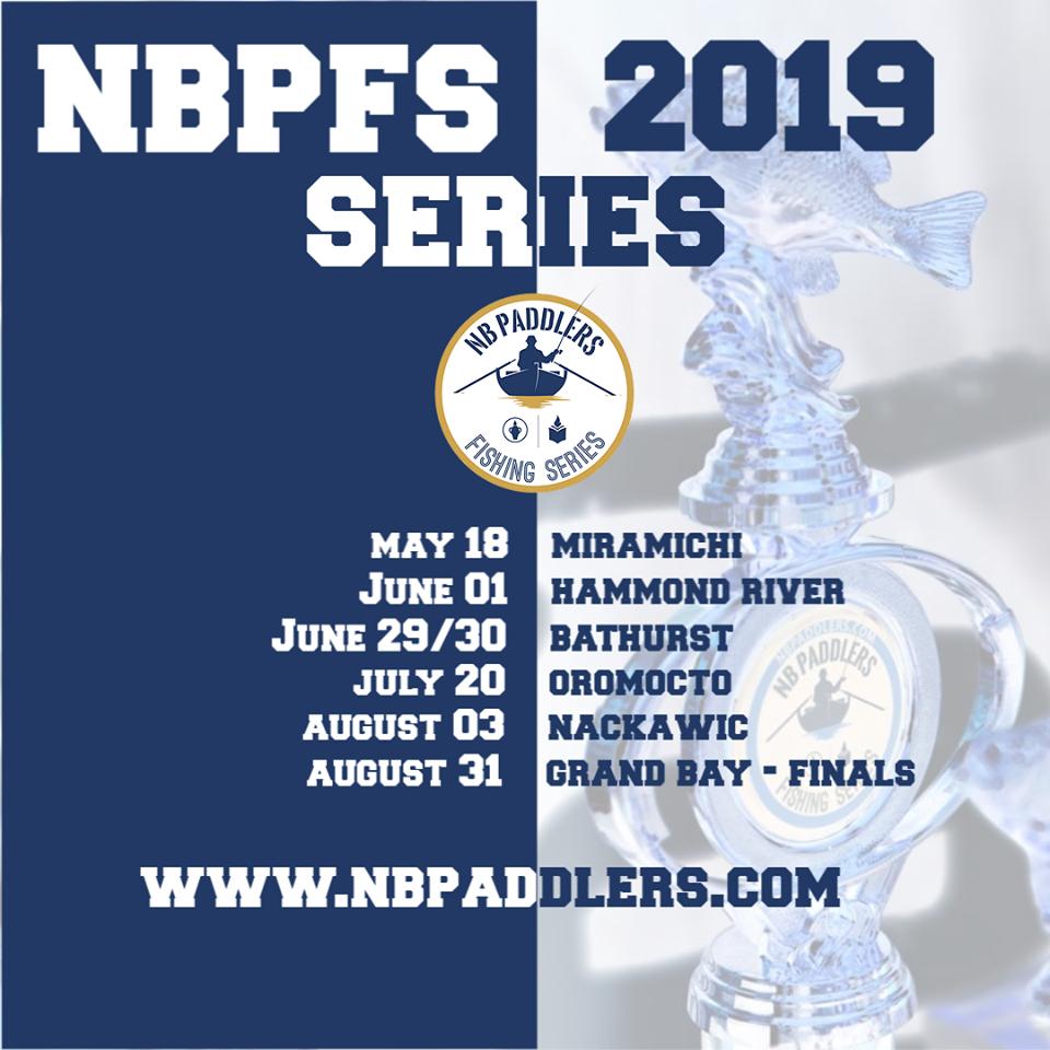 2019 NB Paddlers Fishing Series
